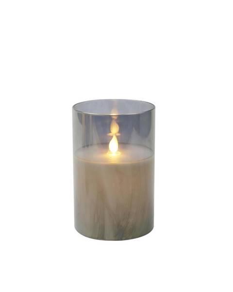 Sivá sviečka Möbelix