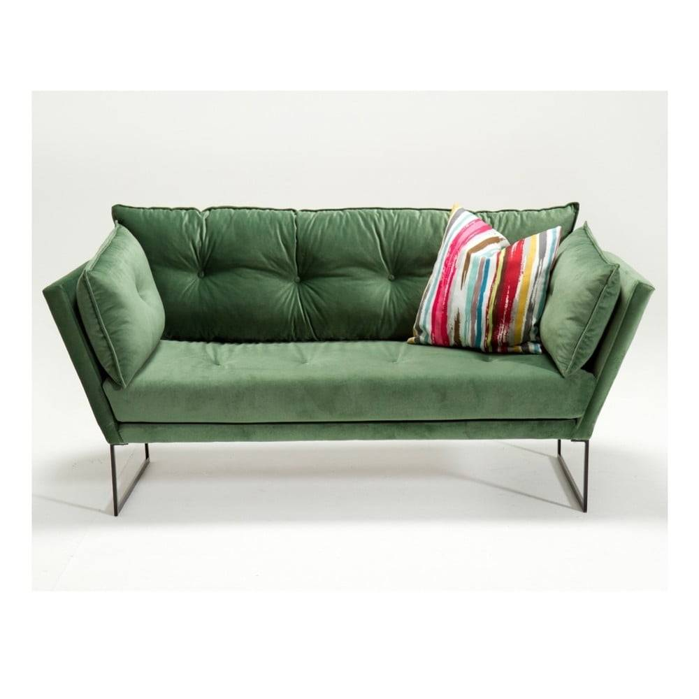 Balcab Home Zelená trojmiestna pohovka Relax