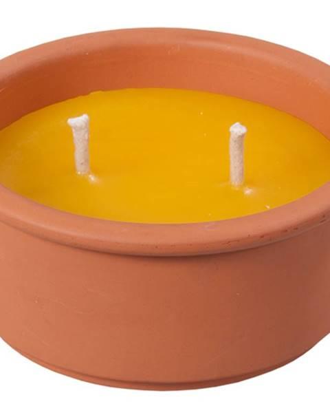 Oranžová sviečka Florina